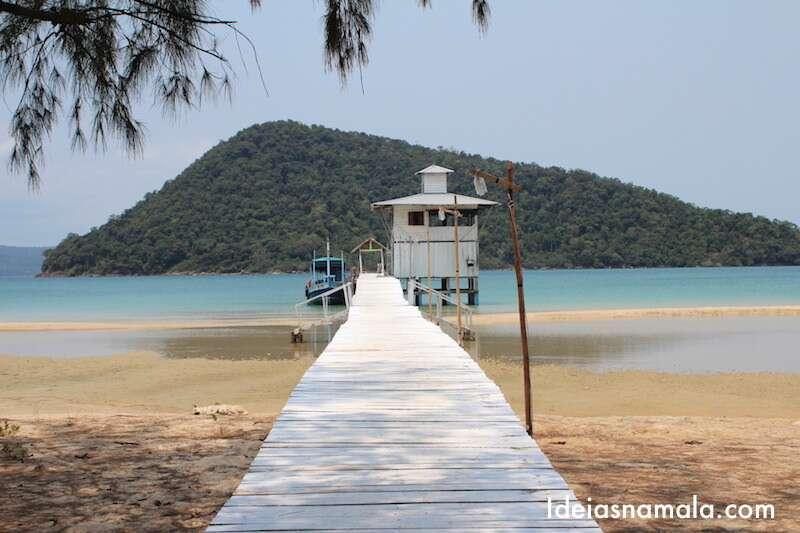 Pier de Koh Rong Samloem