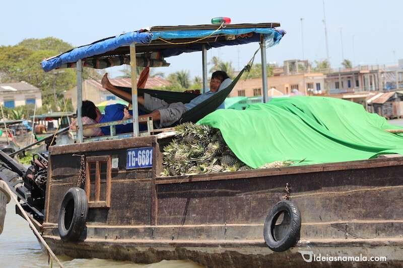 Mercado de Cai Be - Vietnã