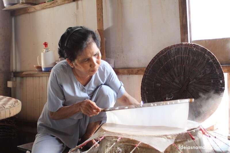 Produção de tortilha - Cai Be