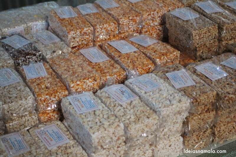 Pipoca de arroz
