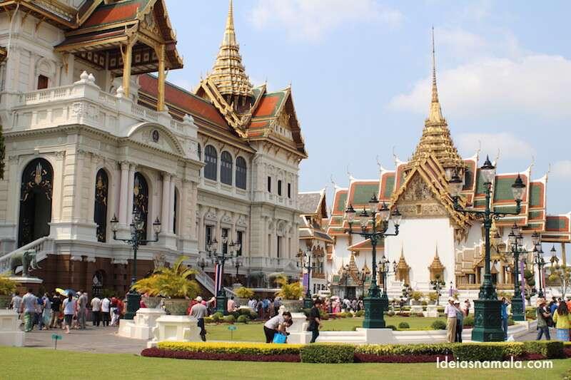 O que fazer em Bangkok: Visitar o Palácio Real
