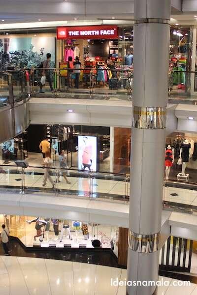 Shopping em Bangkok