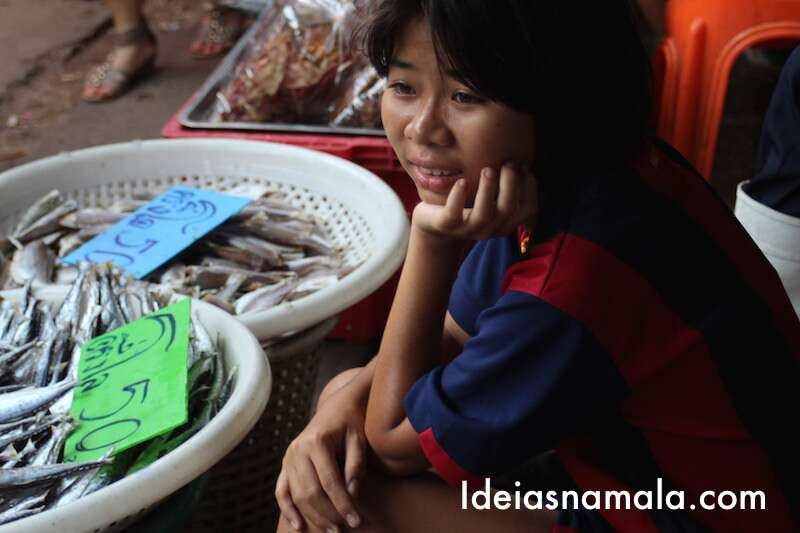Peixes Mercado de Maeklong