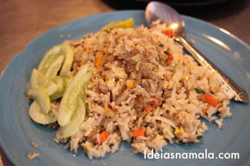Comida - Mercado de Maeklong