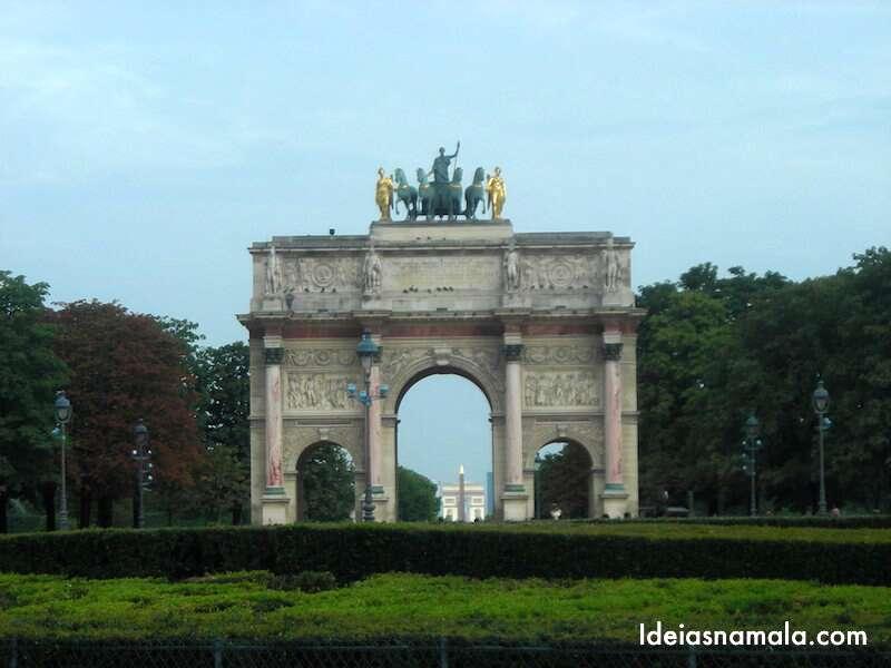 Arco de Napoleão - Paris