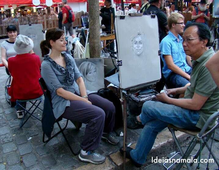 Artistas de Rua - Paris