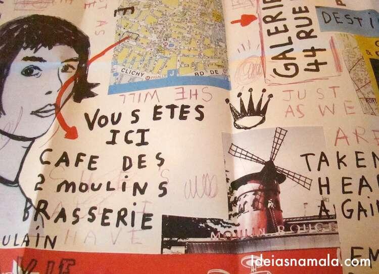 Café Amelie Poulain - Paris