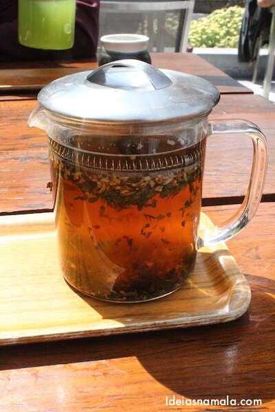 Chá Mourisco do Samovar