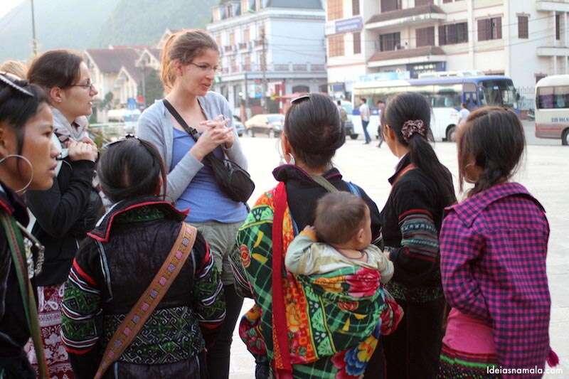 Chegada em Sapa: locais abordam turistas sem reserva