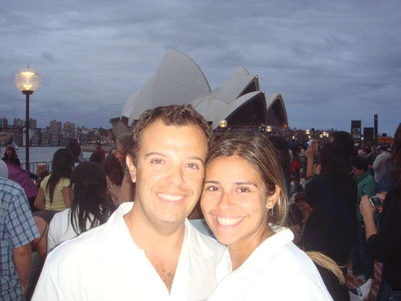 Lua de mel na Austrália
