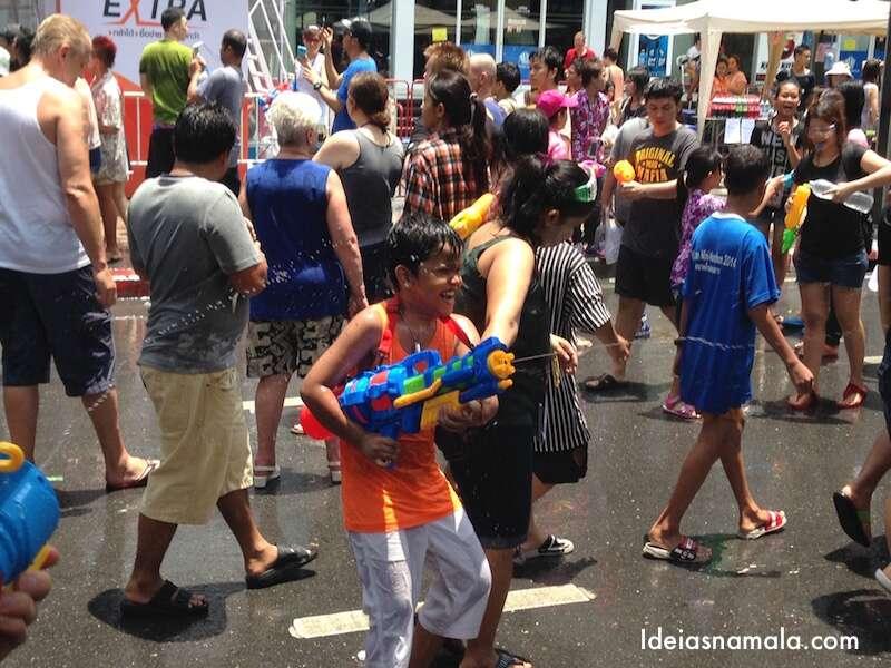 Festival da água - Tailândia