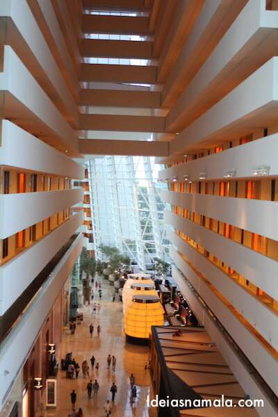Lobby do Marina Bay Sands - Cingapura