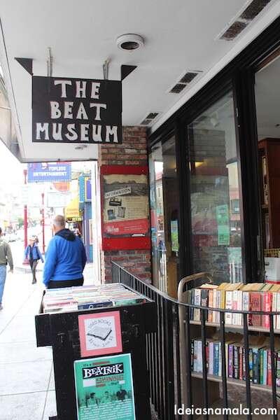 Um dos museus mais vivos de San Francisco, The Beat Museum
