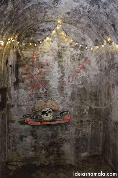 Parte de dentro do túnel