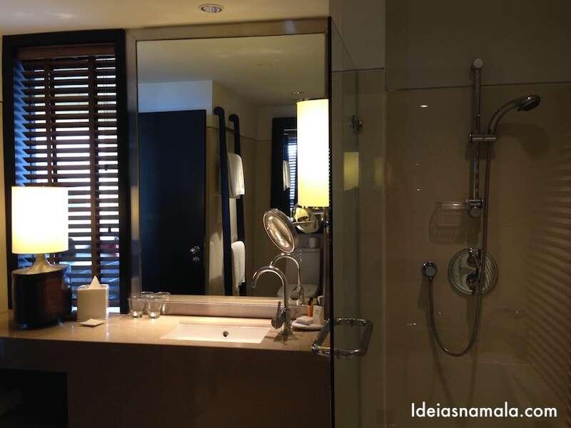 Banheiro Hilton Bangkok