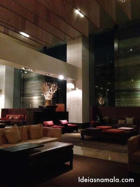 Lobby do Hilton de Bangkok