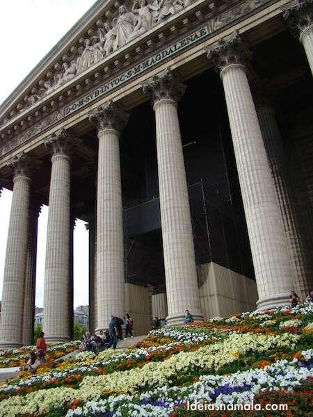 Igreja Madalaine - Paris