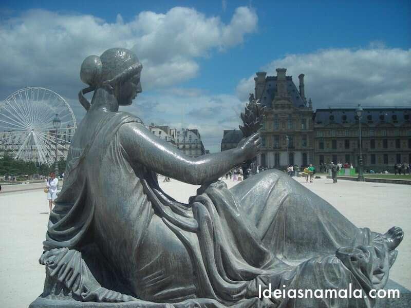 Jardim de Tuleries - Paris