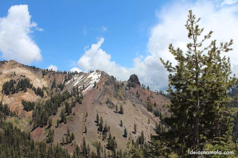 Mirante do Diamond Peak - Lassen National Park
