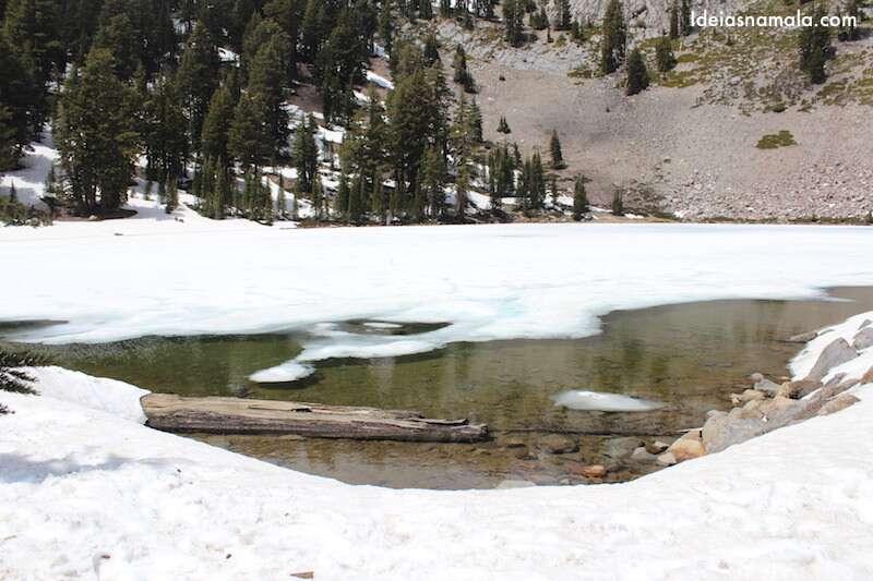 Hellen Lake congelado