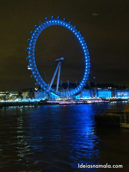 London Eye - Noite