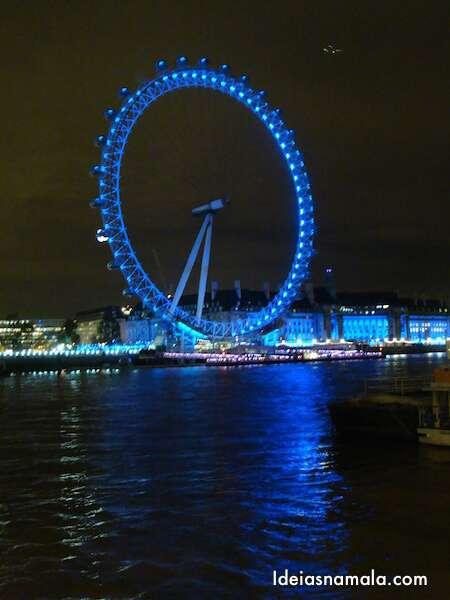 London Eye - Noite