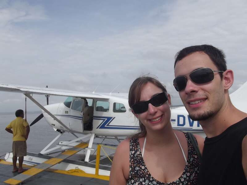 Passeio de hidroavião - Manaus