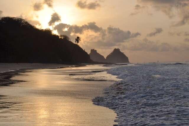 Por do sol Praia do Boldró