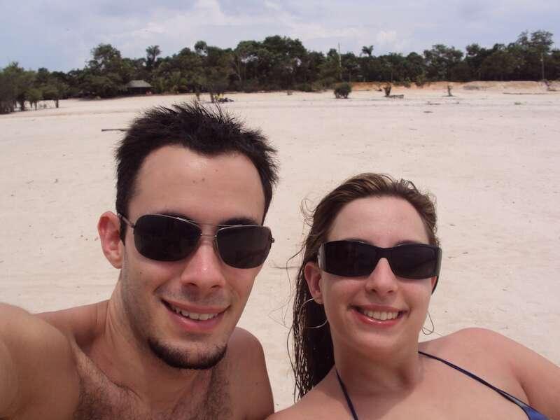Praia de Rio - Manaus