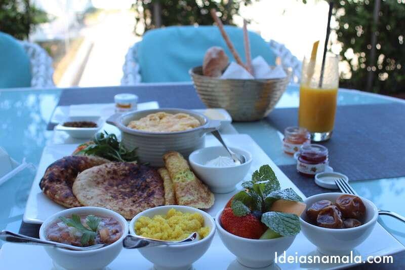 Café da manhã Emirati
