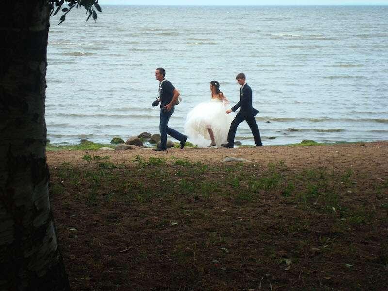 Noiva em San Petesburgo