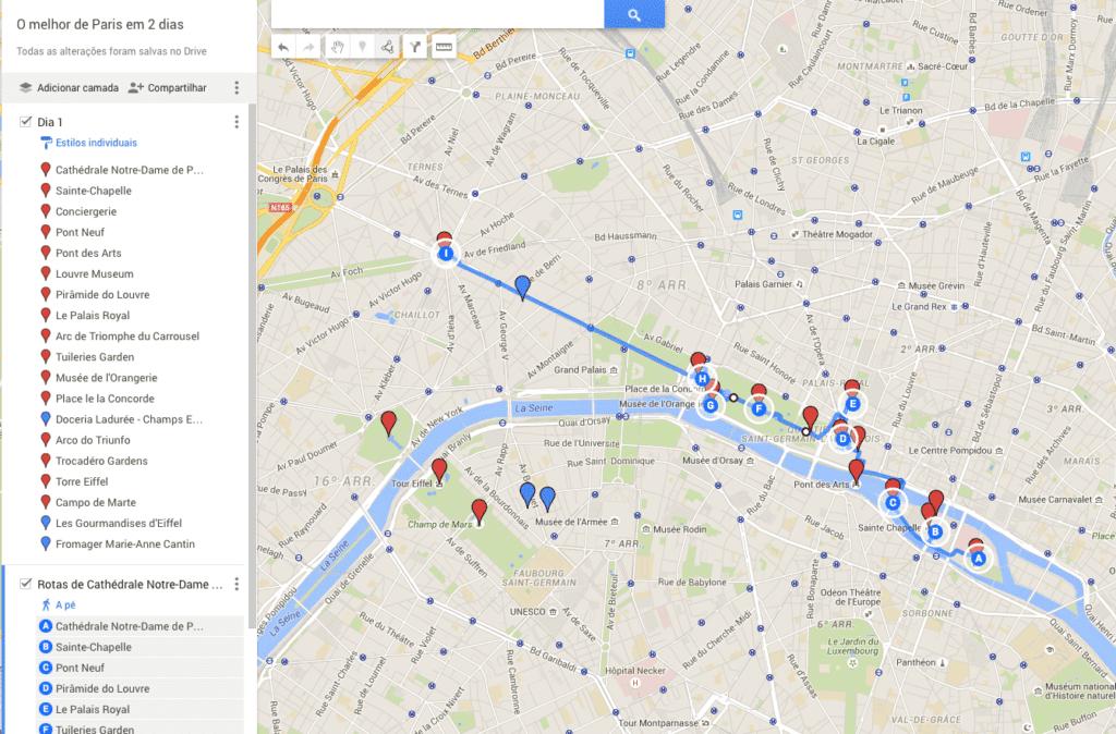 O melhor de Paris em 2 dias