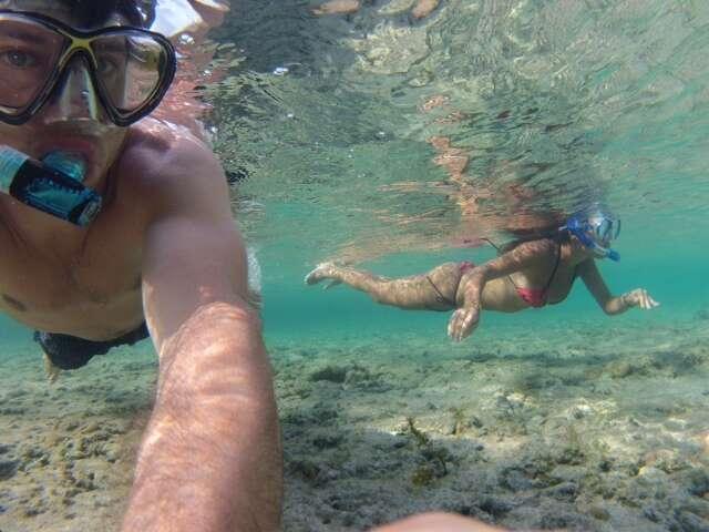 Snorkel na Praia do Atalaia