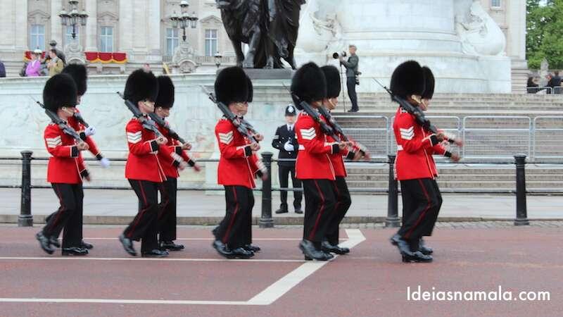 Troca da guarda - Londres