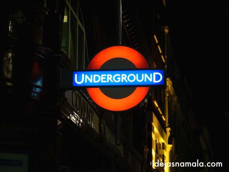 Tube: o metrô de Londres