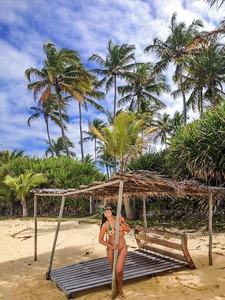 Eveline em Caraíva