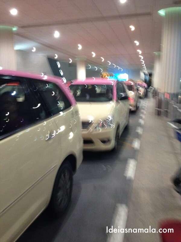 Taxis rosa - Dubai