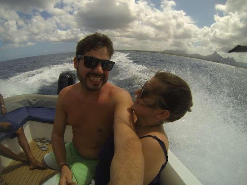 Passeio de Speed boat