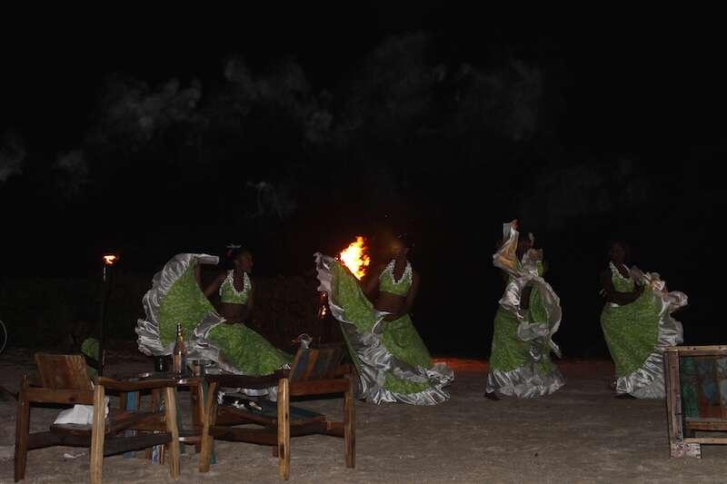 Dança típica das ilhas Maurício