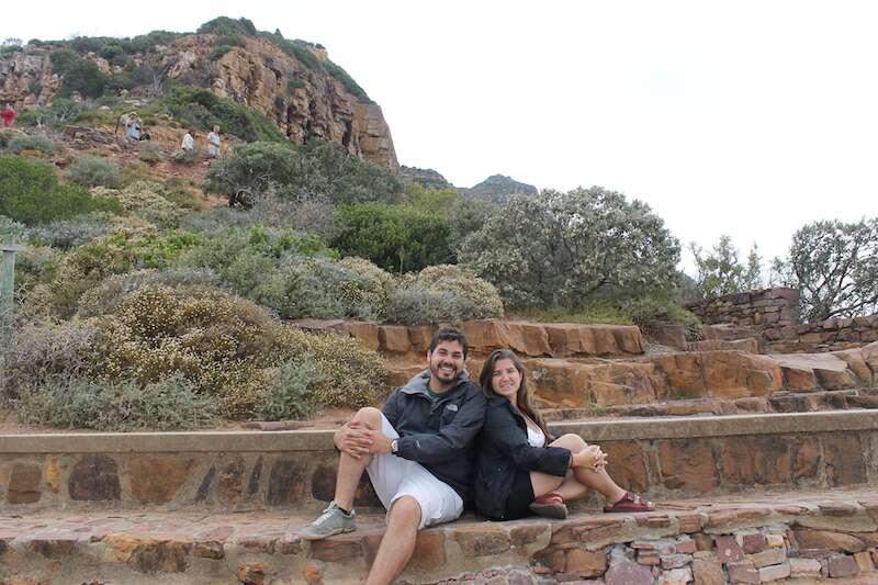 Chapman's peak - na peninsula de Cape Town