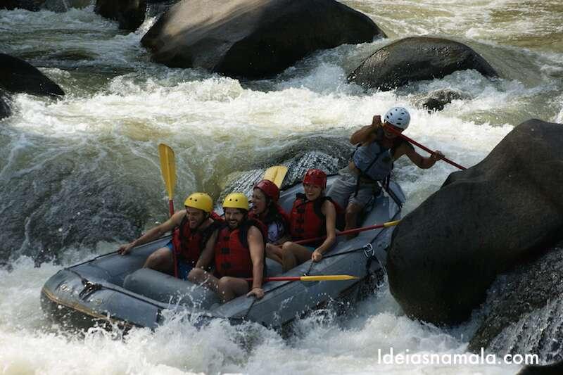 Rafting em Chiang Mai