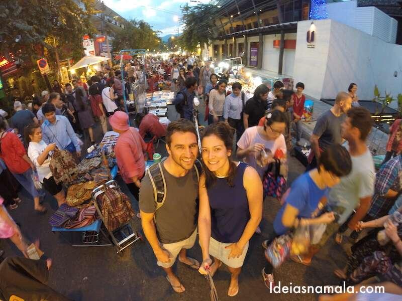 Food Park em Chiang Mai