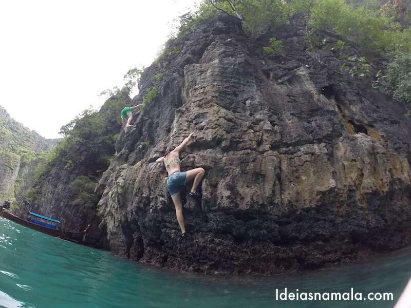 Rock Climbing em Koh Phi Phi