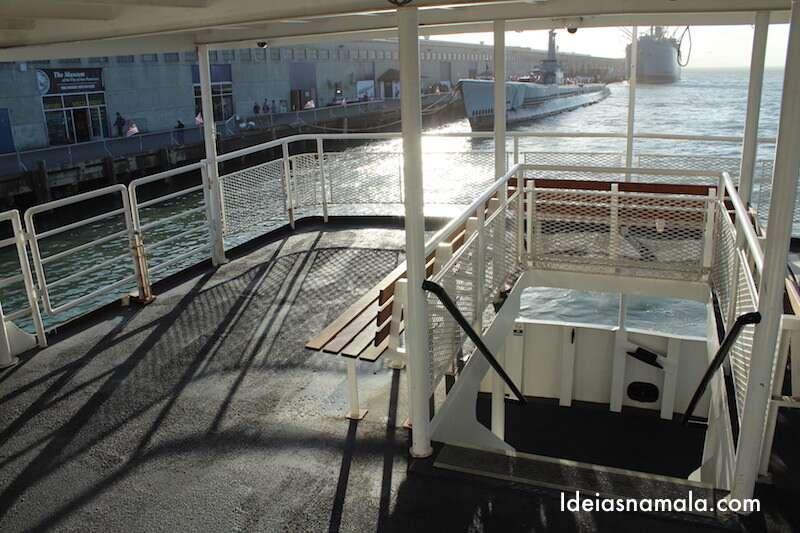 Segundo andar do barco