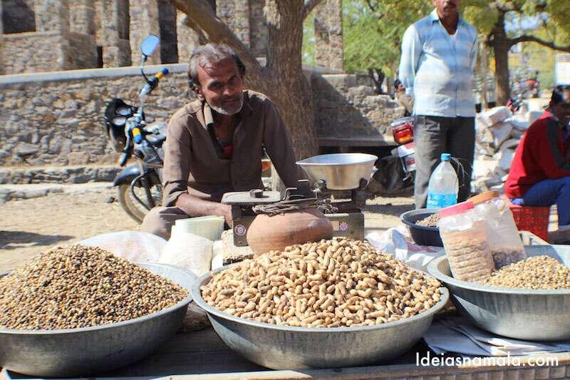 Índia - Vendedor de Nozes