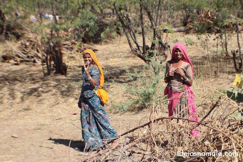 Índia -Mulheres do Rajastão