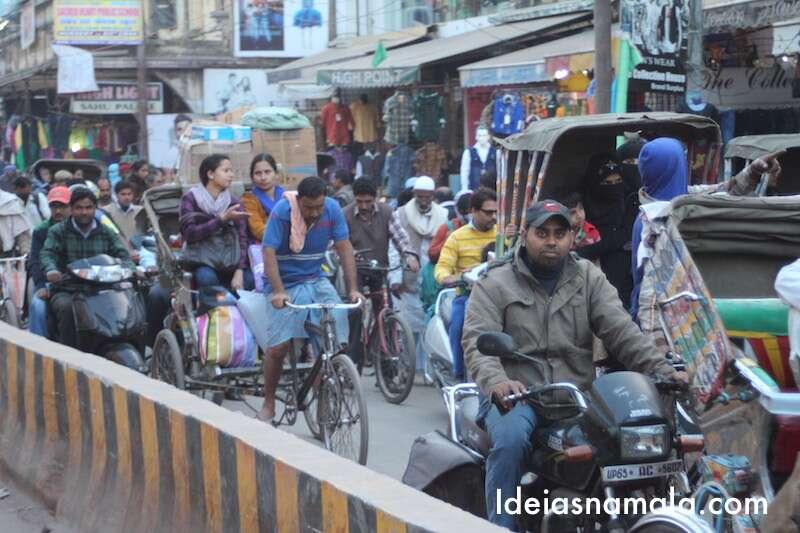 Trânsito em Varanasi