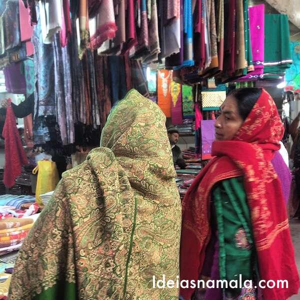 Kinari Bazar - o mercado de Old Delhi