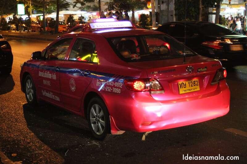 Taxi em Bangkok