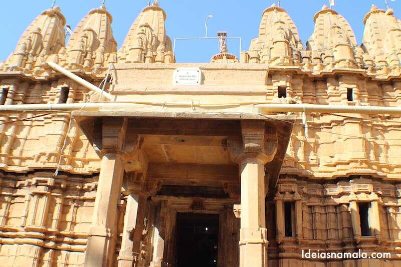 Templo Jainista dentro do forte